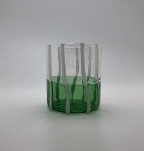 Trasparente – verde